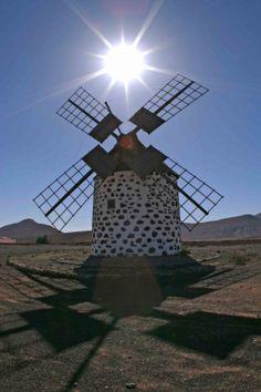 Fuerteventura - windmill