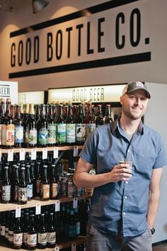 Chris Hunt opened Charlotte's newest bottle shop in South End, Good Bottle Company