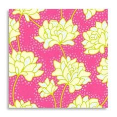 1 yard Heather Bailey Pop Garden Pop Daisy Pink by camoqueenie, $10.00
