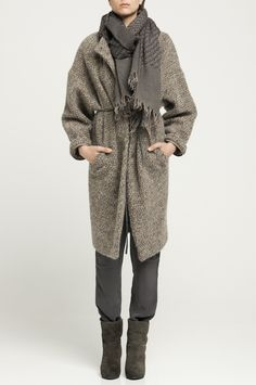 Love this slouchy style for weekend. HUMANOID::JERSEY HAZE COAT