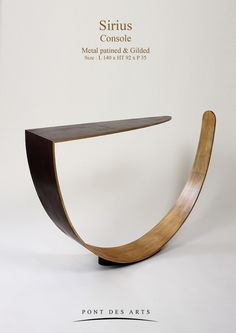 Sirius Console - Designer Monzer Hammoud - Paris-