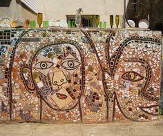 Isaiah Zagar Wall Philadelphia