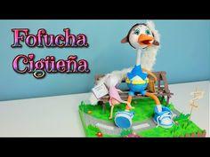 Ideas para recien nacido o baby shower fofucha cigüeña - Isa ❤️ - YouTube
