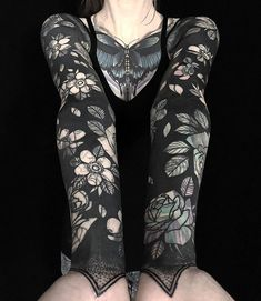 42 Best Solid Black Tattoo images | Awesome tattoos, Solid black ...