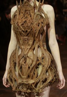 Iris Van Herpen, Haute Couture Spring/Summer 2012  Don't really like this dress(?) but may use it for a villainess