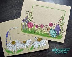 Unity Quick Tip: Envelope Art + Doodle Border Details Mail Art Envelopes, Cute Envelopes, Decorated Envelopes, Handmade Envelopes, Addressing Envelopes, Envelope Art, Envelope Design, Fun Craft, Craft Ideas