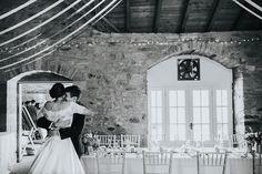 A moment of bliss – barn wedding, Wedderburn Barns