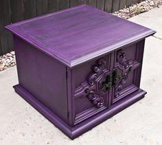 Modernly Shabby Chic Furniture: Purple Love