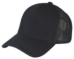 Qulited Baseball Mesh Cap Adjustable Snapback Cap