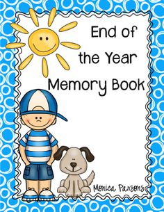 End of the Year Memory Book for grades 3 - 6