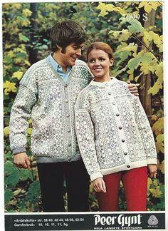 Årdalskofte Norwegian Knitting, Knitting Yarn, Knitwear, Knit Crochet, Embroidery, Retro, Classic, Pattern, Tops