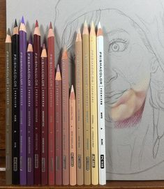 Problem no2 the #prismacolor pencils keep breaking while I'm working with them. I put them on the table one of them break I draw with them one breaks I hold them and accidentally touch the table with them one breaks sharpen them super duper carefully still breaks. Either I bought a bad batch or they couldn't handle the shaky flight home and therefore are broken inside or I'm just to heavy handed and clumsy to use them. Totally understand that some of you love these pencils and they are…