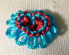 RosalieWakefield-Millefiori: A NEW Brazilian Dimensional Embroidery Stitch Technique ... Braided Lace.   jwt
