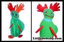 Red Hands Monsterhttp://littlebobabies.com/art-to-life-plush-toy/
