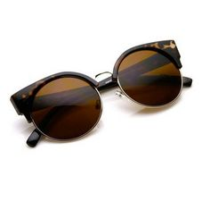 Deadstock Cateye Sunglasses  Vintage Tortoise shell di xyxxxyxx