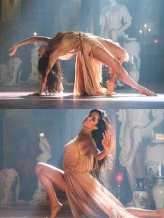 Looking for a similar golden beige flared cut out slit dress as the one Katrina Kaif is wearing Mandana Karimi, Deepika Padukone Hot, Dance Photos, Katrina Kaif, Bollywood Stars, Celebs, Celebrities, Photography Women, Bollywood Actress
