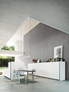Elle is an evolution of the #kitchen #space, a concept that derives from an in-depth #architectonic study that considers various layout #solutions.
