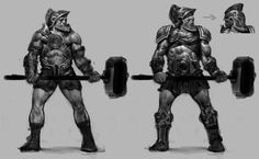God of War Ascension Pictures Characters Concept Artwork 13