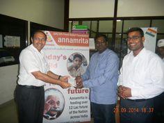 CMD of Bagla Group Mr Rishi Bagla visits ISKCON Food Relief Foundation Aurangabad Kitchen.