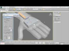 Rigging Character for games - Creating the Skeleton - Part 6 - Hands & Fingers