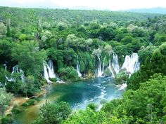 Kravice waterfalls, Bosnia. 2 hours from Dubrovnik, Croatia