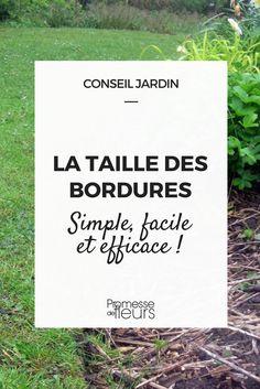 Tailler ou dresser les bordures de massif, c'est simple et très efficace pour éviter les mauvaises herbes : nos conseils !