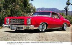 1977 Monte Carlo #Chevrolet #MonteCarlo #LowRider