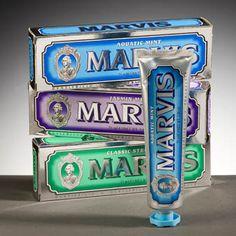 Marvis-italian toothpaste. Beautiful packaging