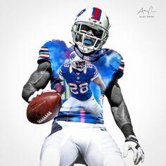 C. J. Spiller, RB, Buffalo Bills. Design by: Alay Patel. March 2014