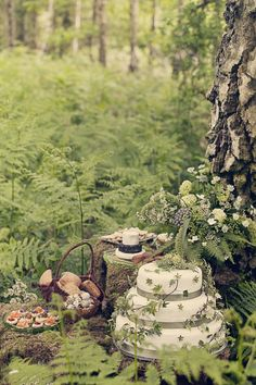 Cottingley fairy woodland wedding inspiration - 041