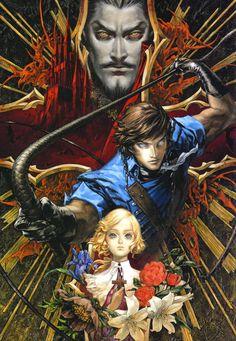 Main Characters Illustration - Castlevania: Dracula X Chronicles