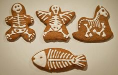 Halloween gingerbread