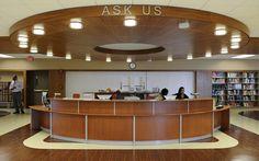 public service desk Detroit Public Library