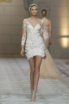 Pronovias Spring 2015 [Photo by Ugo Cámera/Courtesy of Pronovias]