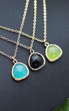 Jewelry Necklace Christmas Gift Set of 3 Sweet