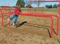 Parallel Bars - Fitness Equipment, School Playground Equipment  loved  these at school