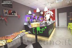 #coffeshop #bar #interiors #clubs #restaurant #colour #green #yellow