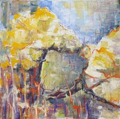 At the Path by Jolanta Bogdan from the Drifting into Plein Air exhibition at Harbour House, May 2017