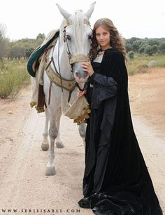 A Princess and her horse