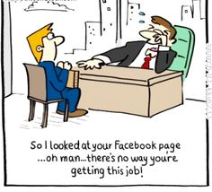 Watch what you post !! If you post stuff while drunk, it could get you sacked or prospective new employers rapidly realise you have a MAD side and realise there is no way they would offer you employment after seeing that evidence ‼️