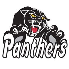 Panthers Mascot Press On Waterless Temporary Tattoos by Cheerleading Company