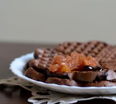 Relish it: Czekoladowo-bananowe gofry (wegańskie)