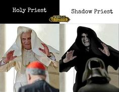 Funny pictures about Dark side of the force. Oh, and cool pics about Dark side of the force. Also, Dark side of the force photos. Star Wars Meme, Star Trek, World Of Warcraft, Unseen Images, Emperor Palpatine, Pope Benedict Xvi, Sith Lord, The Villain, Coincidences