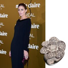 Olivia Palermo wore Carrera y Carrera's Gardenias ring last night at Marie Claire Prix Awards in Madrid.  www.carreraycarrera.com