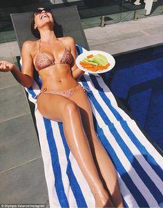 Olympia Valance.. Zimmermann bikini..