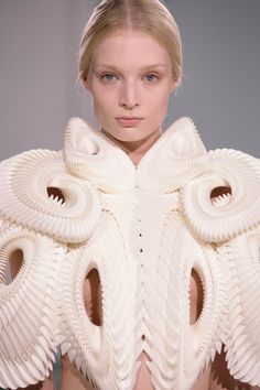 pieces from Iris van Herpen's Capriole collection