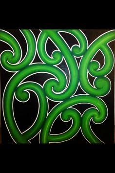 Maori paintings