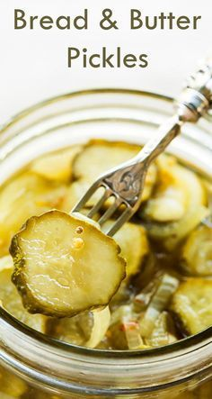 Learn how to make sweet sliced cucumber Bread and Butter pickles! Perfect for sandwiches. On http://SimplyRecipes.com
