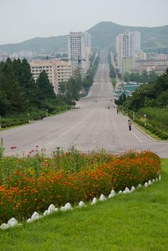 More photos from North Korea. As you can see the roads are absolutely empty. There's really not much activity outside of the very central of Pyongyang it seems.I was also able to ride a taxi in Pyongyang because I had issues with my connecting flight in China, which meant I needed a visa for China. It's very rare for tourists to ride a taxi let alone go inside the Air Koryo office so that was an added experience. I tried speaking Korean to the employees but they either refused to acknowledge…