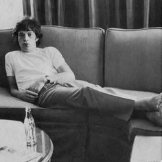 Mick | rolling stones | vintage photography | black & white | legend | hotel | rock music | inspired | amazing